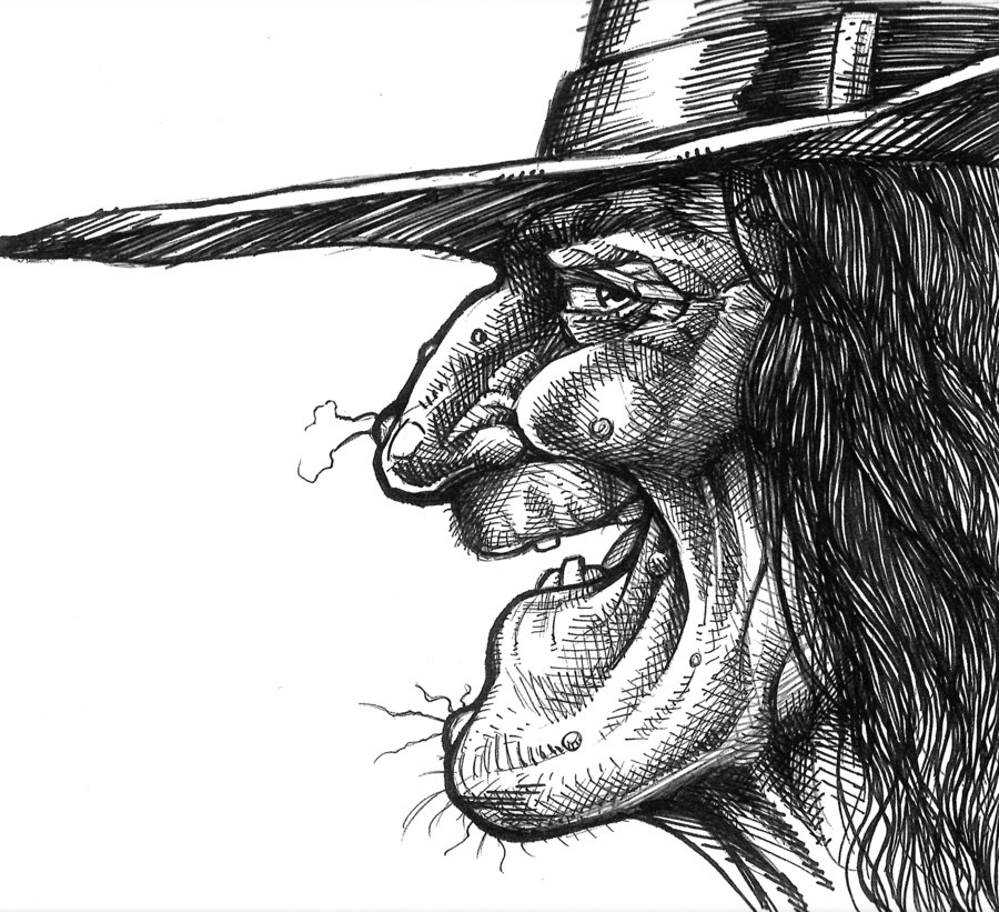 halloween_witch_face_profile_by_scottepentzer-d5hadl5