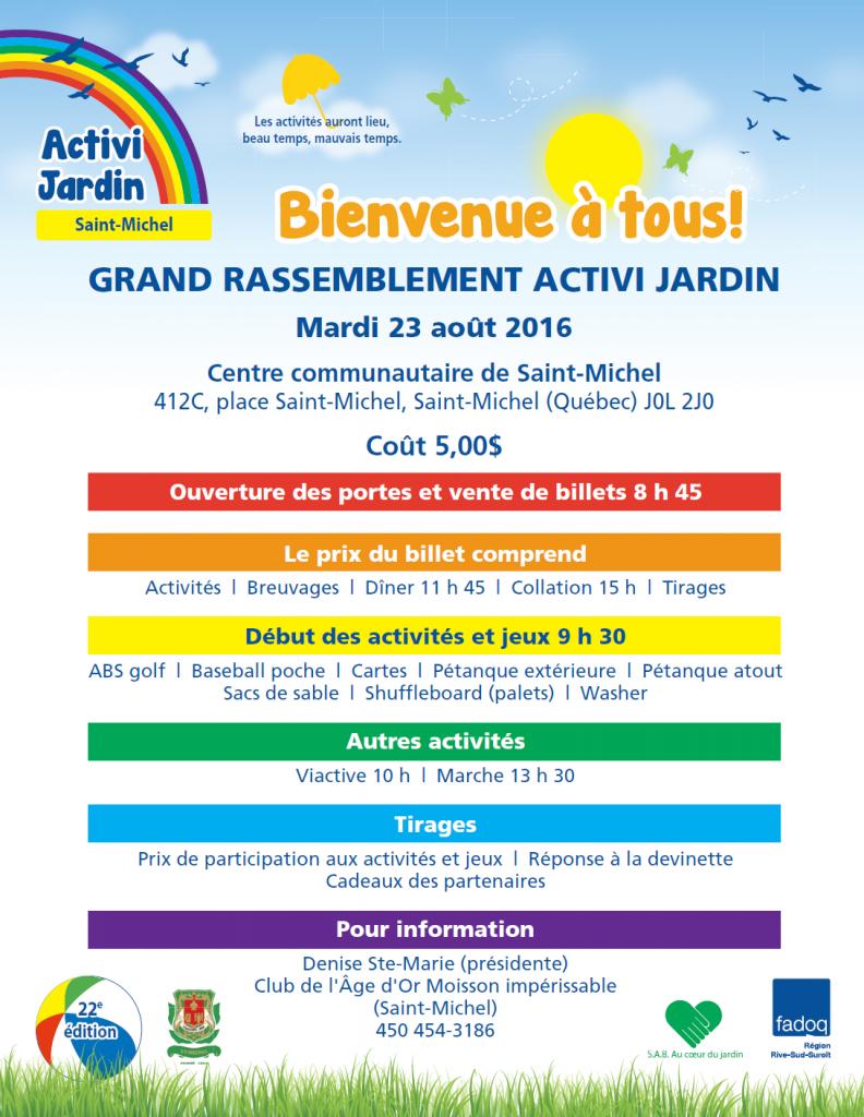 Activi Jardin 2016