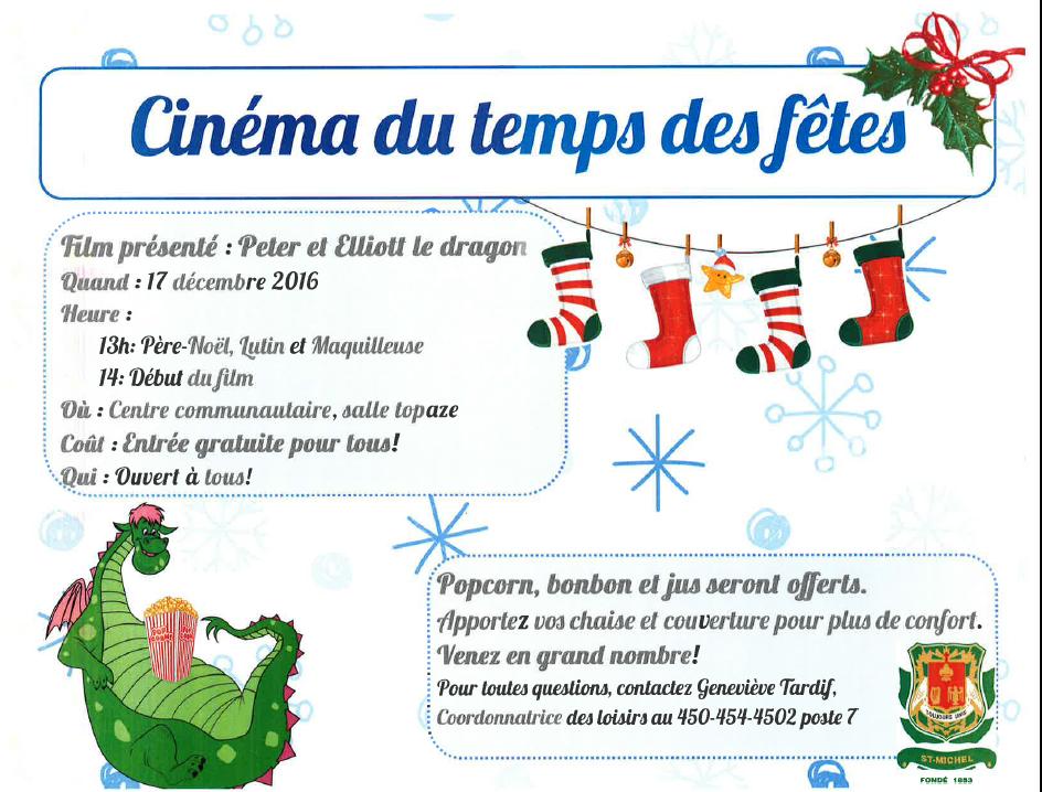 cinema des Fetes