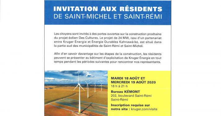 Invitation aux résidents:…