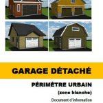 Garage détaché (périmètre urbain)